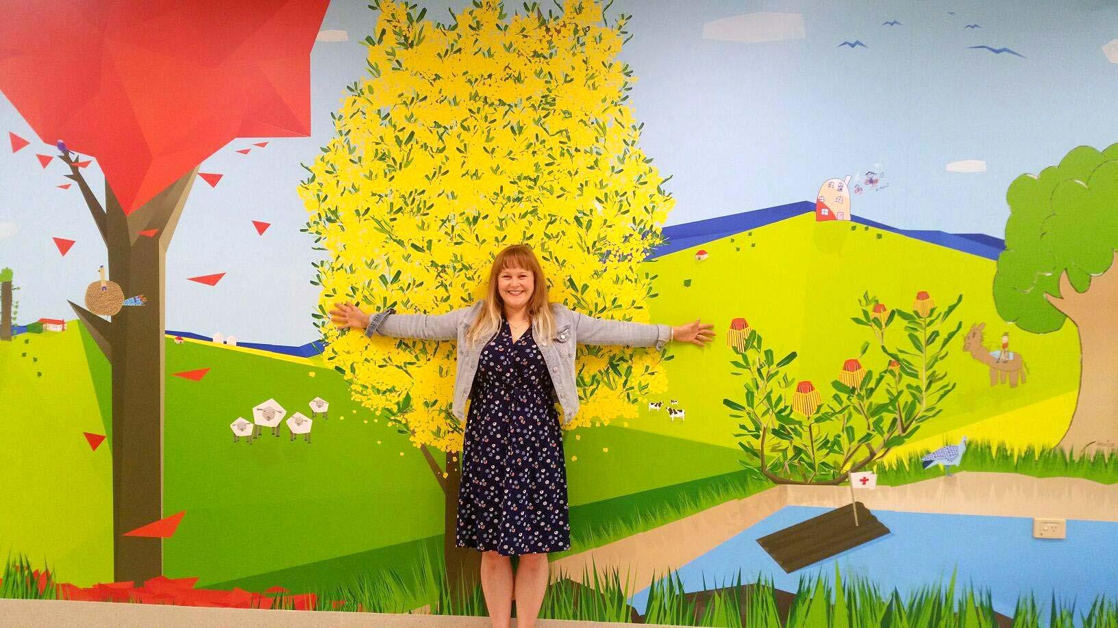 Wagga Wagga Rural Referral Hospital Children's Ward artwork - When Matilda Met Mallie